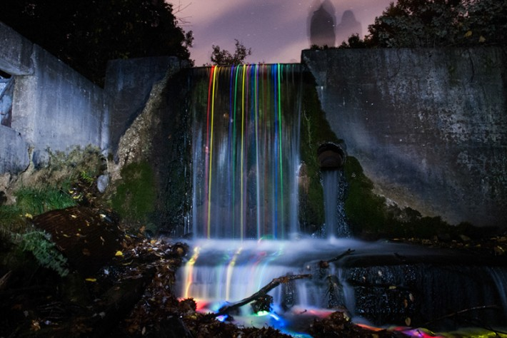 FromTheLenz-NeonWaterfall-2