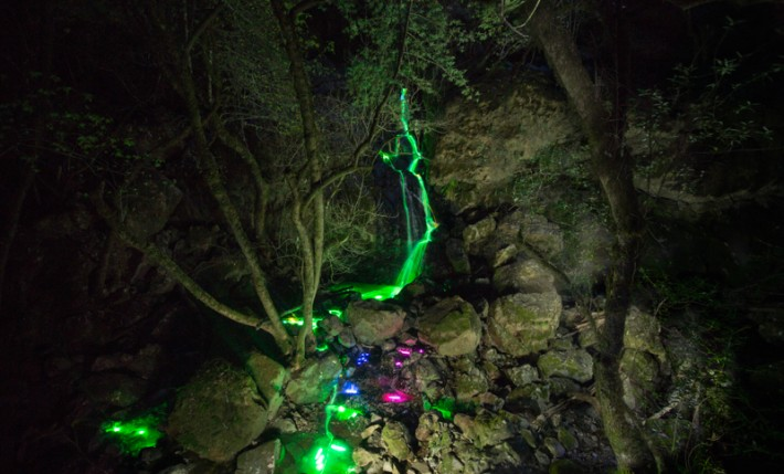 FromTheLenz-NeonWaterfall-4
