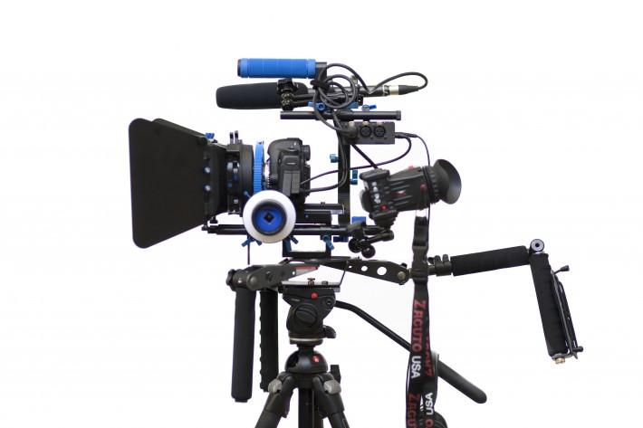 DSLR video rig