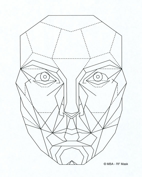 Beautiful Face Diagram