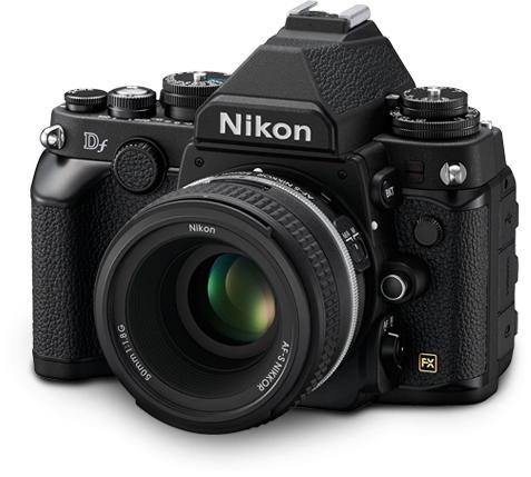 Nikon-df-black-lens