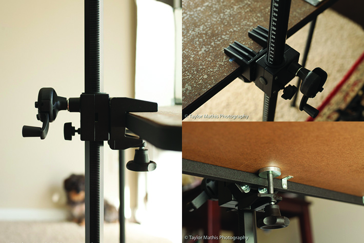 tablemount_column_clamping_table