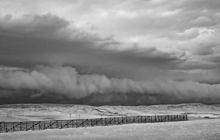 Outside of Upton Wyoming