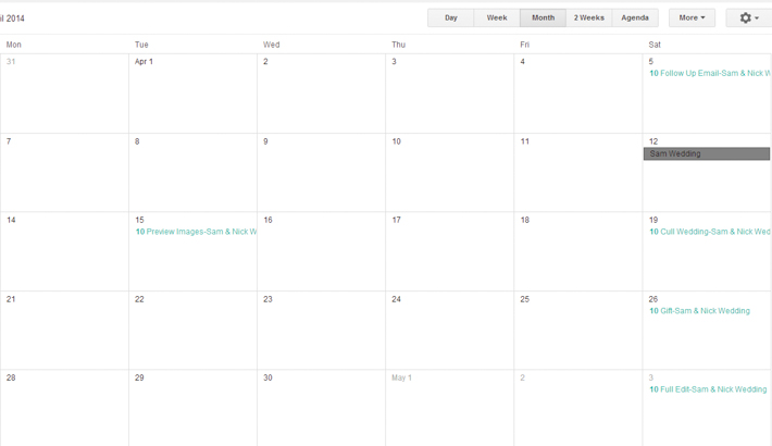 a free google calendar tool to meet your workflow deadlines fstoppers. Black Bedroom Furniture Sets. Home Design Ideas