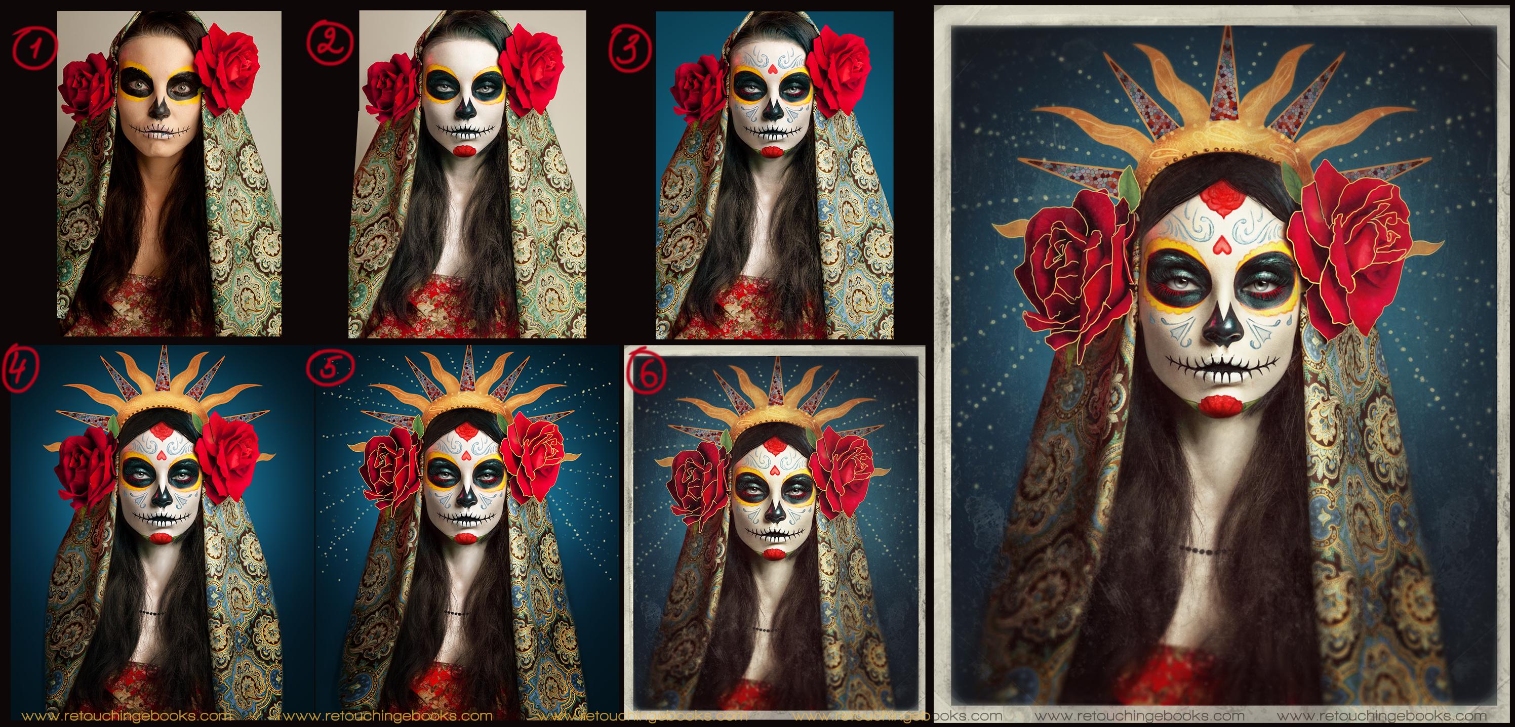 Sugar Skull by Julia Kuzmenko Mckim