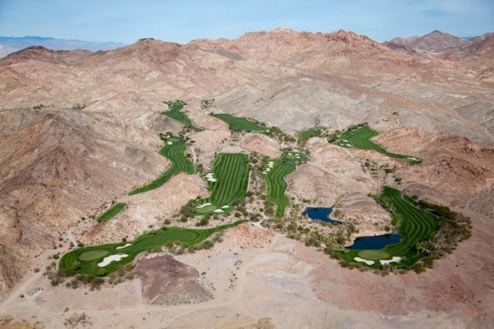 Golf Oasis in Desert Hills, Las Vegas, Nev., 2009 by Alex MacLean