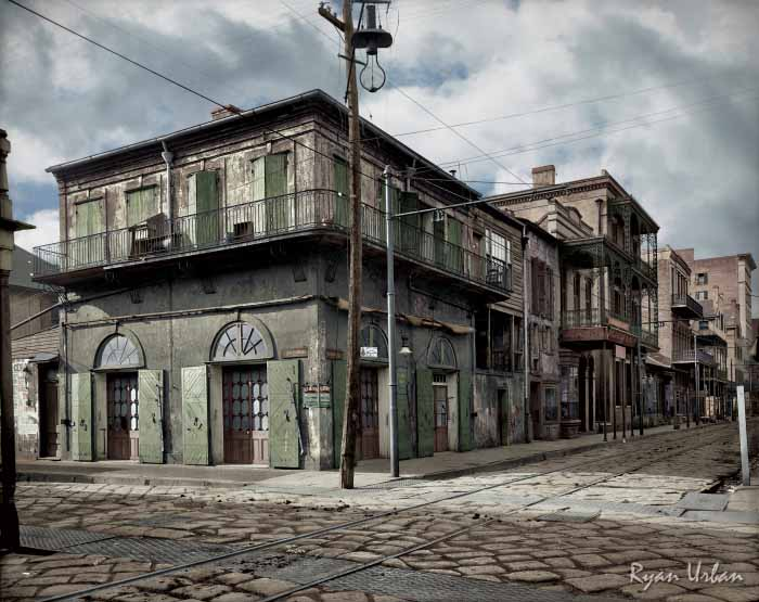Ryan-Urban-Colorizations-New-Orleans-Bourbon-Street