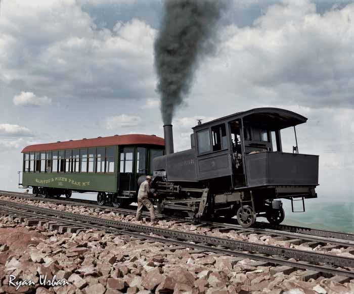 Ryan-Urban-Colorizations-Pikes-Peak-Railway
