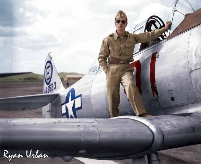 Ryan-Urban-Colorizations-Pilot-WWII