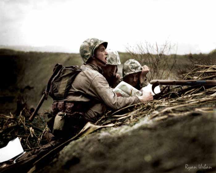 Ryan-Urban-Colorizations-Soldier-Iwo-Jima