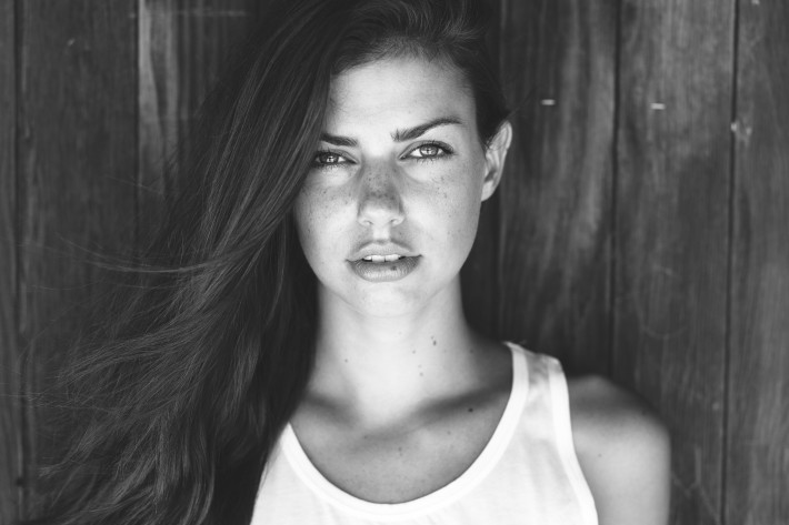 Black And White Portrait Shots