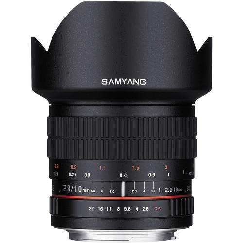 samyang 10mm lens front