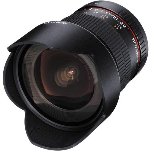 samyang 10mm lens leaned