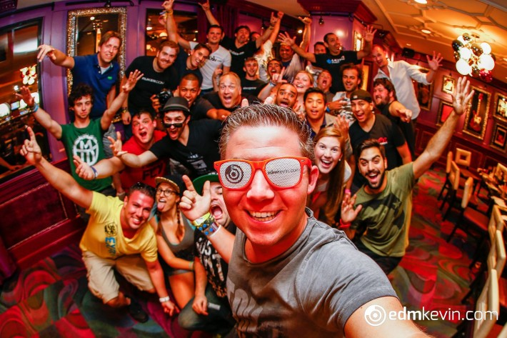2nd annual EDM Photographers Meetup. Hard Rock Cafe. Miami, FL.  Photo by: Kevin Verkruijssen