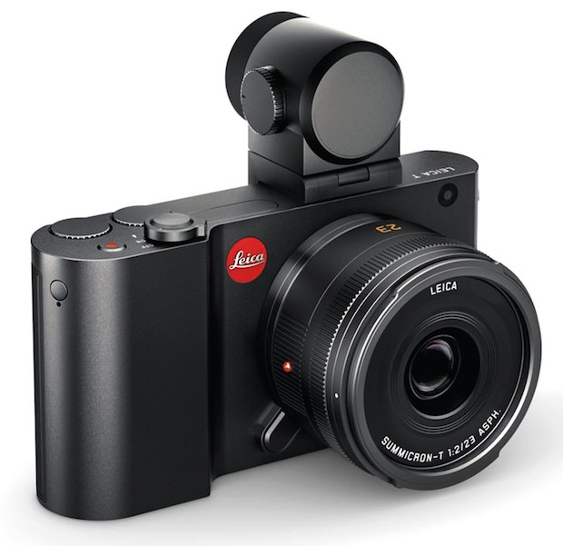 leica t system with viewfinder