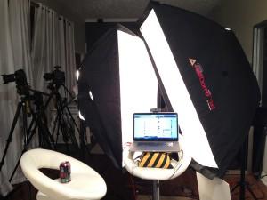 Keylight Lighting for Webcam