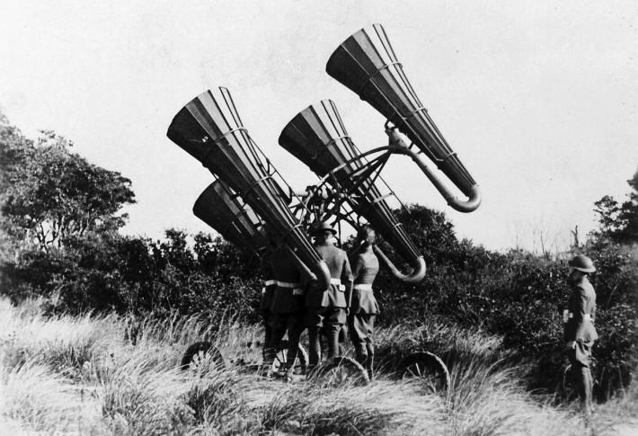 WW1 Photography Sonar