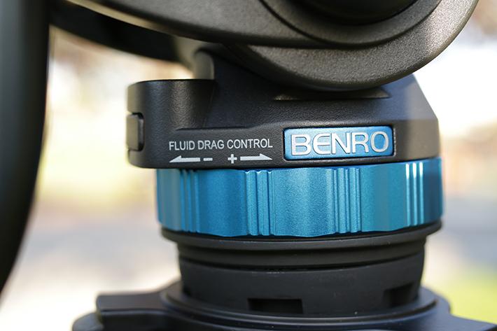 benro s8 video tripod 1
