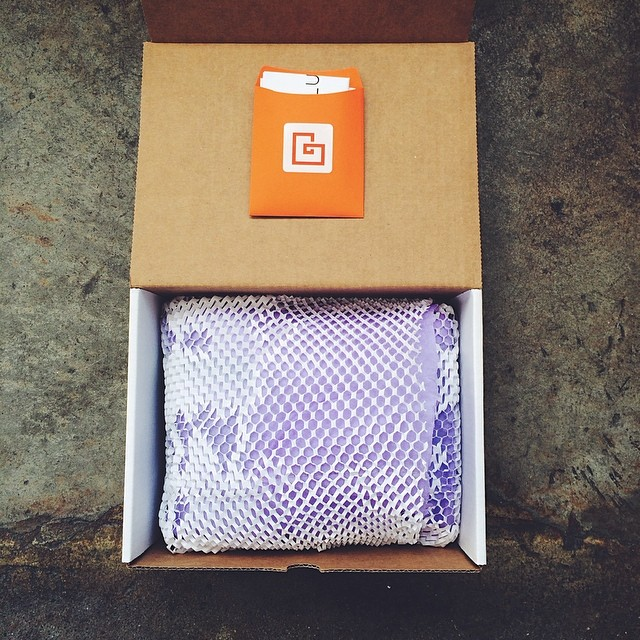 Customers send in pictures they've taken with rented gear as well as photos of gear arriving in Lumoid's contemporary boxes...