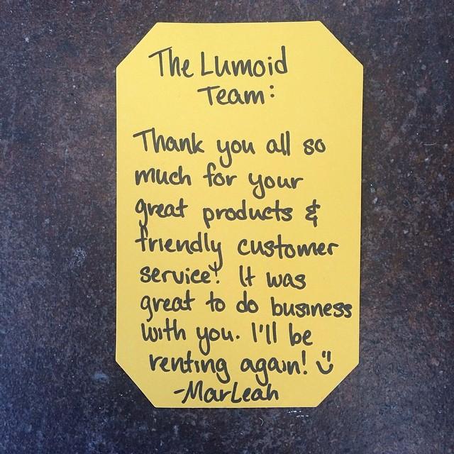 lumoid thank you 3