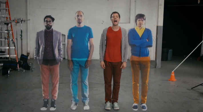 OK Go The Writing's On the Wall 8