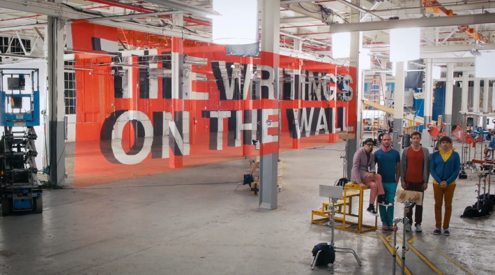 OK Go The Writing's On the Wall 9