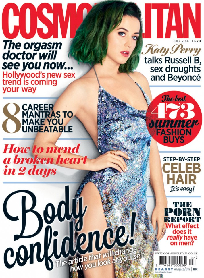 Katy Perry Cosmopolitan Britain
