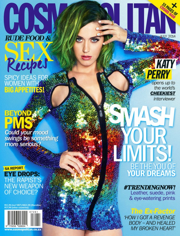 Katy Perry Cosmopolitan New Zealand